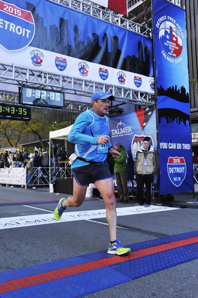 Finally, Do As I Do Too! or, My Detroit Marathon Story