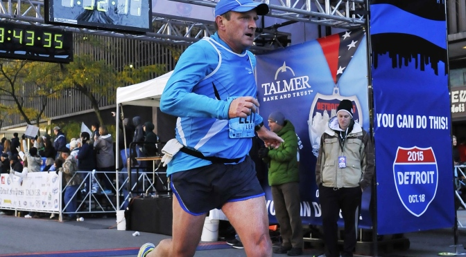 Finally, Do As I Do Too! or, My Detroit Marathon Story